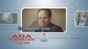 Calrence Ada Founder ADA Air Conditioning and Heating Jackson TN